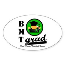 Stem Cell Transplant Grad Oval Decal