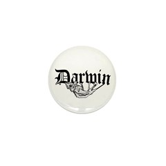 Darwin Mini Button (10 pack)