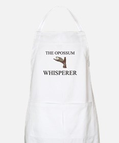 The Opossum Whisperer BBQ Apron