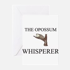 The Opossum Whisperer Greeting Cards (Pk of 10)