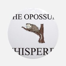The Opossum Whisperer Ornament (Round)