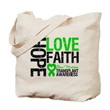 BMT Hope Love Faith Tote Bag