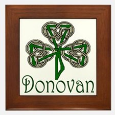 Donovan Shamrock Framed Tile