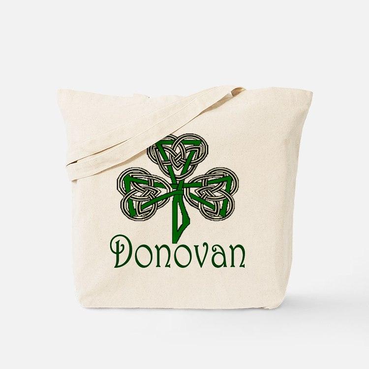Donovan Shamrock Tote Bag