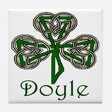 Doyle Shamrock Tile Coaster