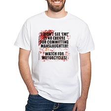 Mens White Manslaughter T-Shirt