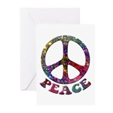 Peace symbol Greeting Cards