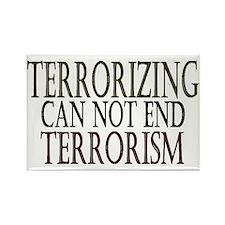 Terrorizing isn't Working Rectangle Magnet (10 pac