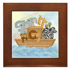 Noah's Ark Framed Tile