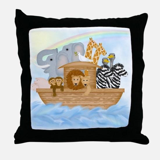 Noah's Ark Throw Pillow