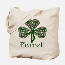 Farrell Shamrock Tote Bag