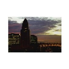 L.A. City Hall - Rectangle Magnet