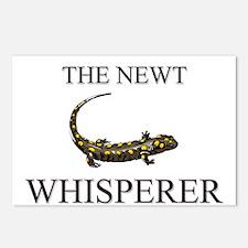 The Newt Whisperer Postcards (Package of 8)