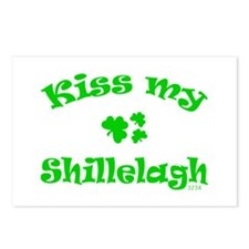 kiss my Shillelagh Postcards (Package of 8)