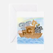 Noah's Ark Card Greeting Cards