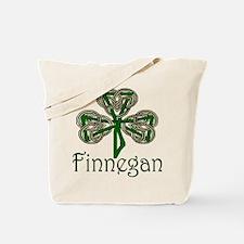 Finnegan Shamrock Tote Bag