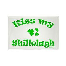 kiss my Shillelagh Rectangle Magnet