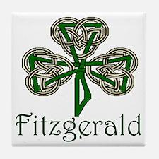Fitzgerald Shamrock Tile Coaster