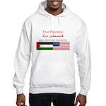 USA Support Palestine Hooded Sweatshirt