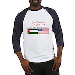 USA Support Palestine Baseball Jersey