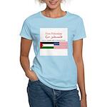 USA Support Palestine Women's Light T-Shirt
