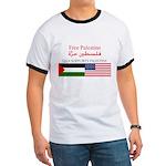 USA Support Palestine Ringer T