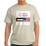 USA Support Palestine Light T-Shirt