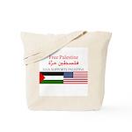 USA Support Palestine Tote Bag