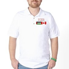 Canada Supports Palestine T-Shirt