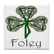 Foley Shamrock Tile Coaster