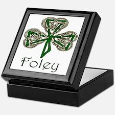 Foley Shamrock Keepsake Box