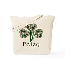 Foley Shamrock Tote Bag