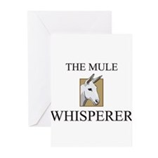 The Mule Whisperer Greeting Cards (Pk of 10)