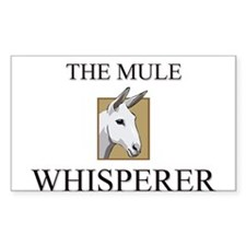 The Mule Whisperer Rectangle Decal