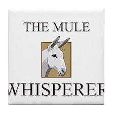 The Mule Whisperer Tile Coaster