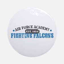 Air Force Falcons Ornament (Round)