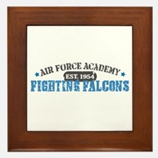 Air Force Falcons Framed Tile