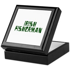 Irish Fisherman Keepsake Box