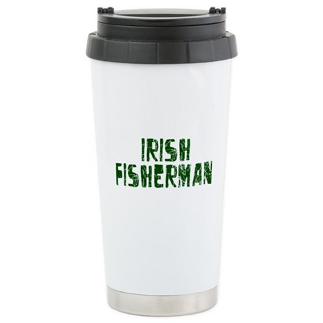 Irish Fisherman Stainless Steel Travel Mug