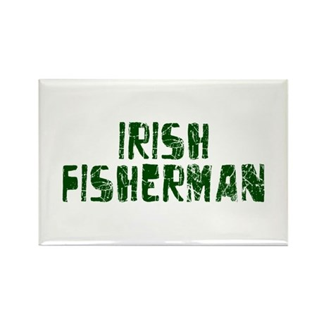 Irish Fisherman Rectangle Magnet (10 pack)