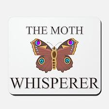 The Moth Whisperer Mousepad