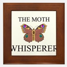 The Moth Whisperer Framed Tile