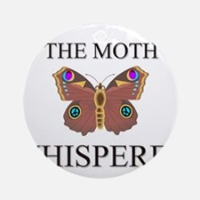 The Moth Whisperer Ornament (Round)