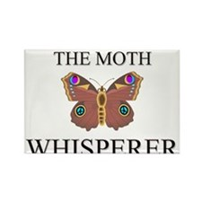 The Moth Whisperer Rectangle Magnet
