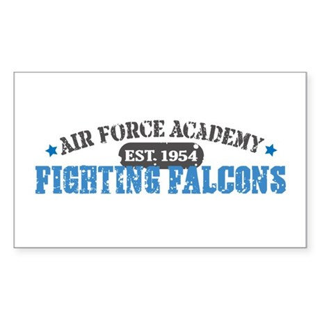 Air Force Falcons Rectangle Sticker