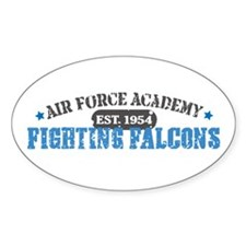Air Force Falcons Oval Decal