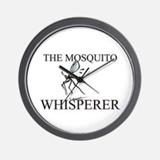The Mosquito Whisperer Wall Clock
