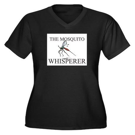 The Mosquito Whisperer Women's Plus Size V-Neck Da