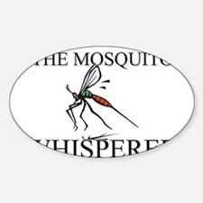 The Mosquito Whisperer Oval Decal