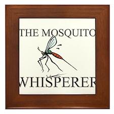 The Mosquito Whisperer Framed Tile